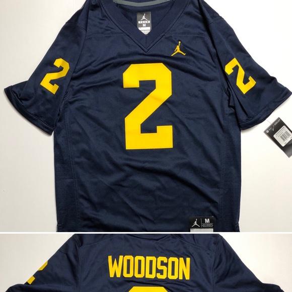 free shipping 1520d 134d4 NWT Nike Jordan Charles Woodson Jersey Men's M NWT